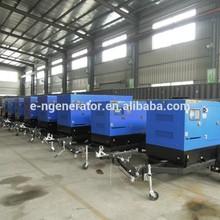top quality 6BTA5.9-G2 diesel generating with trailer