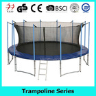 13FT funny bungee trampoline with handlebar for kids and adults