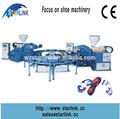 2014 de Wenzhou STARLINK caliente rotatoria de la venta doble - color de moldeo por inyección de maquinaria para hacer zapatillas