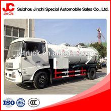 self loader vacuum sewage suction truck