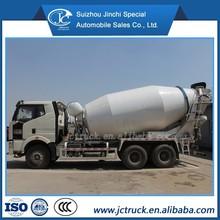 FAW J6 6X4 12CBM Concrete stir pump truck concrete mixer truck concrete mixer truck hydraulic pump