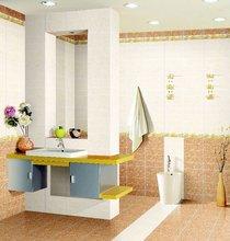 natural bathroom flower decoration ceramic tiles wallpaper 3D