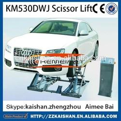 KM530DWJ used car scissor lift hoist price for sale