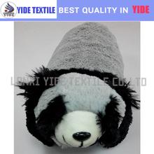funny pet panda shape car seat cushion decorative cushion