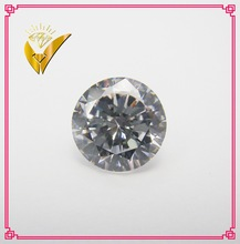 hot sale white round brilliant heart and arrow star cut synthetic cz artificial diamond