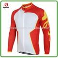 Largo ciclo de la manga de la chaqueta a prueba de agua y transpirable desgaste de la bici skinsuit para bicicletas