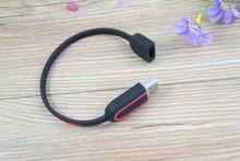 Colorful bracelet Wrist silicone USB flash drive