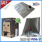 Hotsale liquid food packaging bag bag in box packaging