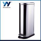 Oval shap stainless steel waste bin