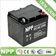 12V 40AH Long Life 24V Rechargeable Battery Pack