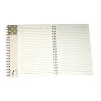Spring journal office cheap school notebook