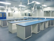 Good Price!!! All-steel/stainless steel laboratory table lab furniture ,island bench