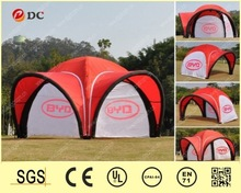 Red Inflatable party/event/exhibition/advertising tent