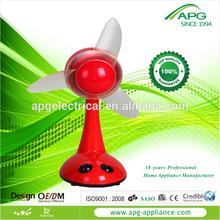 colorful small manual plastic hand fan