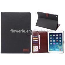 FL2587 Retro crazy horse leather case for iPad air 2,for iPad air 2 case