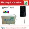 3300uf 6.3v Electrolytic Capacitor SZWX generator capacitor