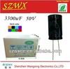 ultra capacitor price 3300uf 50v 18*36mm facon capacitor