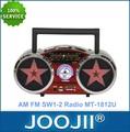 Mini portable am fm sw antique. radio avec usb/lecteur sd