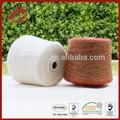 Popolare filato mescolato 38% 38% di lana superfine alpaca alpaca filato boucle