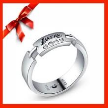 NBA Lakers fashion ring stone ring finger rings