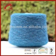 soft fluffy high-end 32%wool 19%polyamide 49%kid mohair WOMAN SWEATER YARN