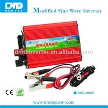 Small Modified Sine Wave Power Inverter 12V DC to 220V AC 300 Watt