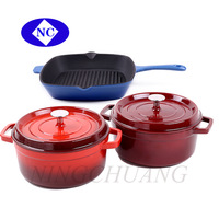 south africa japanese enamel cast iron cookware