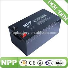 12V 250AH Alibaba China Sealed Lead Acid Solar Battery 12V 1000AH