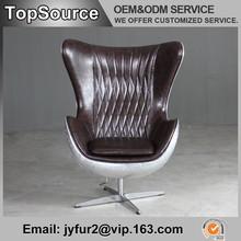 Superior Quality Aluminium Egg Chair, Half Egg Chair, Egg Shaped Chair