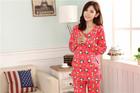 Bright And Top Quality Cute Cartoon Design Loungewear Set for Pregant Ladies 244637