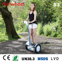 Airwheel self-balancing electric scooter as popular as chopper motorcycle