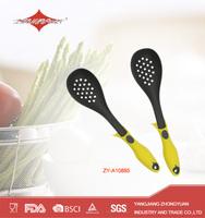 Plastic frying slotted spoon nylon kitchen utensils