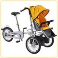 Multi fonction de luxe 2014 mère et l'enfant poussette. vélo
