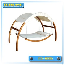 Hammock with luxury canopy swinging hammock bed