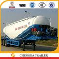 cbm 42 semi remolque de cemento a granel remolque cisterna para la venta