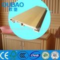 Eco- ambiente 113* 16mm compuesto plástico de madera revestimiento de registro