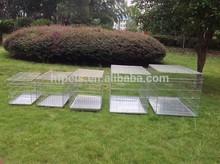 Wholesale Silver Color Pet Crate Dog Cage