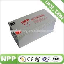 12v 200AH China Manufacturer Rechargeable UPS Lead Acid 12V 400AH Battery