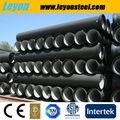 K9/c25/c30/c40 tubo de ferro fundido para a água/esgoto/projectos de gás