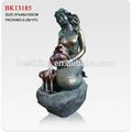 polyresin garten statue meerjungfrau brunnen