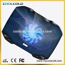 portable adjustable two cooling fans laptop cooler pad, 5v usb notebook cooler
