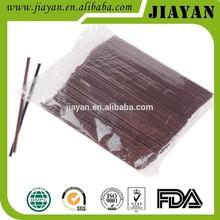 pp plastic coffee stirrer drinking straws