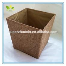 New design durable yellow brown storage box