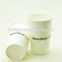 decorative hot paper cups /custom printed hot paper cups