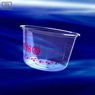 P500 PLA 16oz 500ml transparent plastic bowl - biodegradable tableware