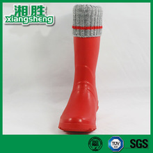 Long Rubber Boots, Long Rubber Boots with Knitting, Long Rubber Boots with Velvet