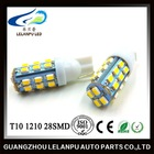 new products 12v t10 1206 28smd car interior lighting