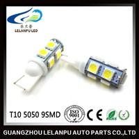 12v led interior lights 9smd 5050 T10 led license plate light