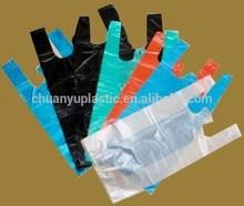 Plastic T-shirt shopping packaging Bags