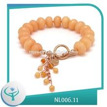 [TTT Jewelry] logo engraved jewelry tag charm bead bracelet gifts
